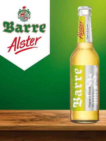 Barre Alster Flasche