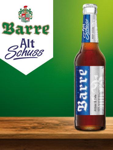 Barre Alt Schuss Flasche