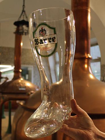 Bierstiefel glas