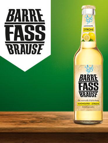 Barre Fassbrause Flasche