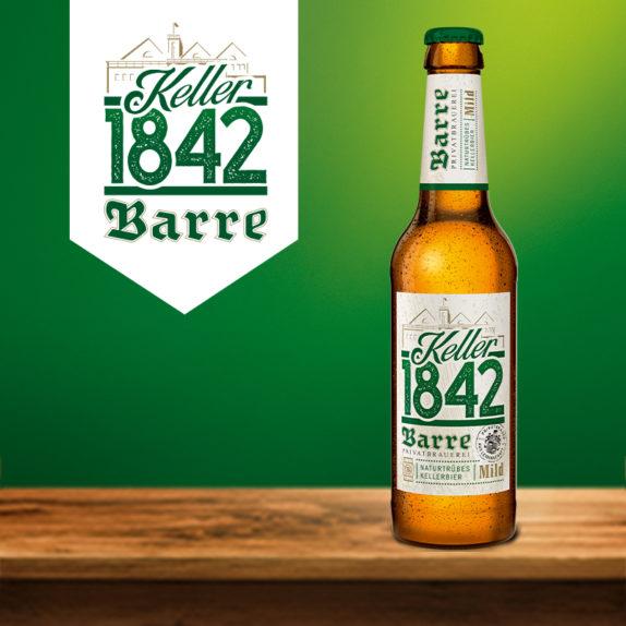 Barre Kellerbier Flasche