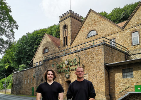 Neue Auszubildende auf dem Brauereihof