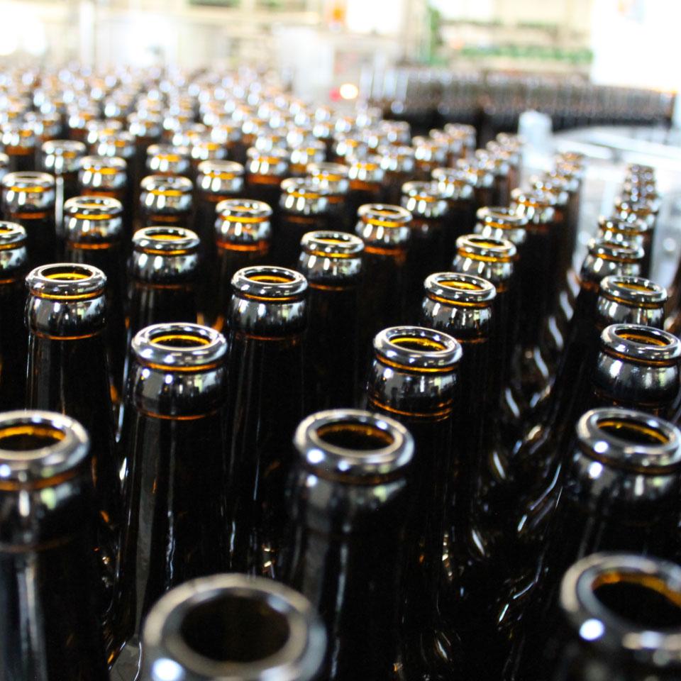Merhwegflaschen Brauerei