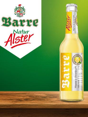 Alster Barre Flasche