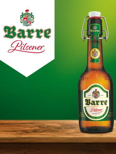 Barre Pilsener Flasche