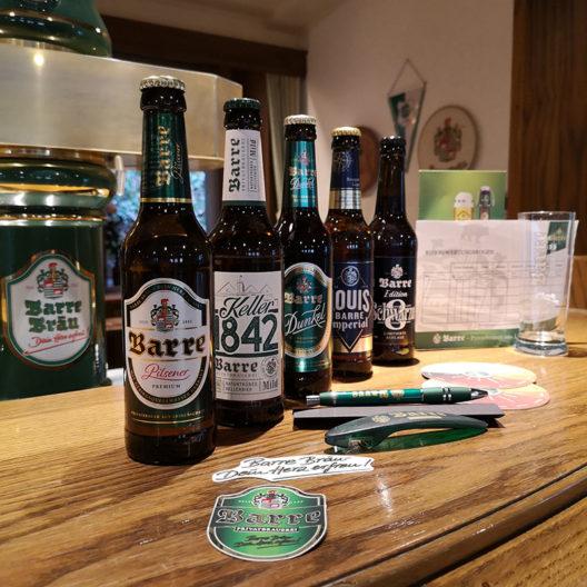 ProBier-Paket mit verschiedenen Bierflaschen