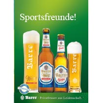 Anzeige Barre Weizen alkoholfrei und Pilsener alkoholfrei 2021